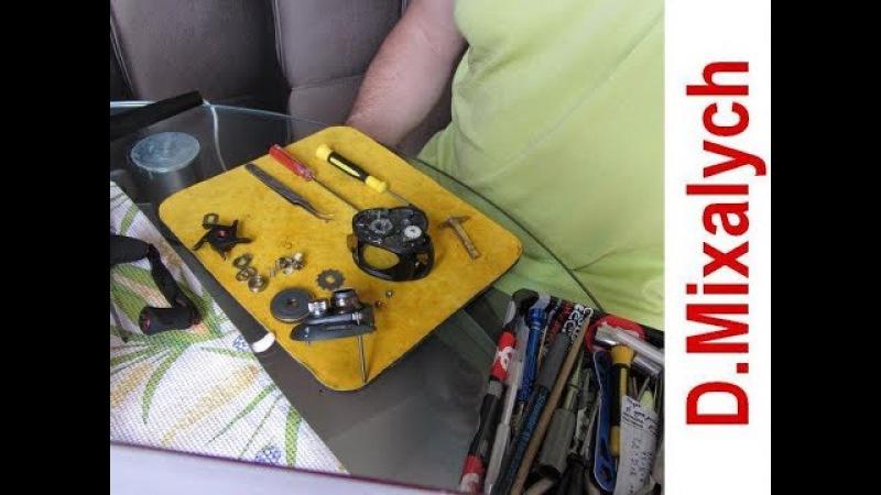 Устраняем люфты в мультипликаторной катушке HAIBO SMART