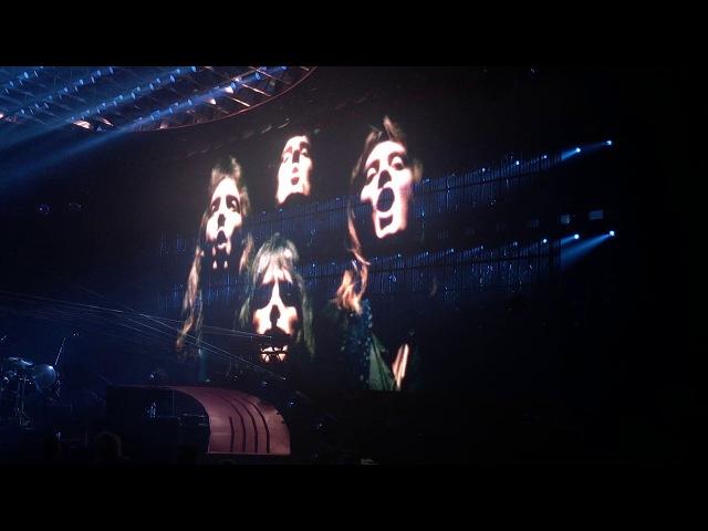Queen Adam Lambert - Bohemian Rhapsody - Hartwall Arena - Finland