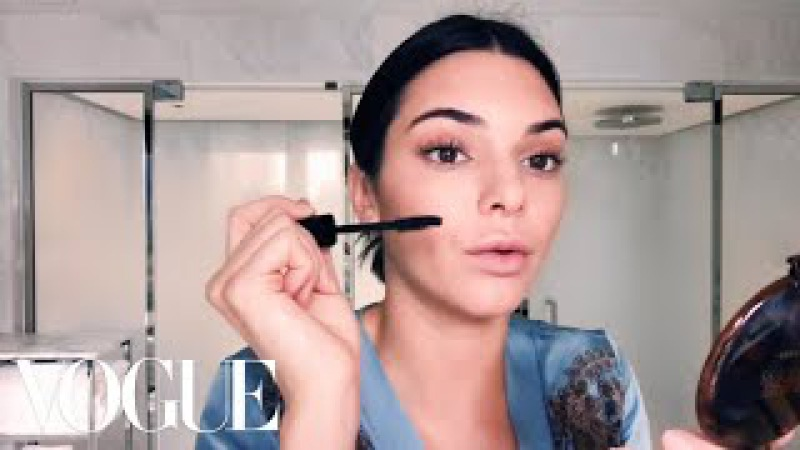Kendall Jenner Shares Her Morning Beauty Routine   Beauty Secrets   Vogue