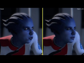 Mass Effect Andromeda Patch 1.05 vs Retail Animation Comparison