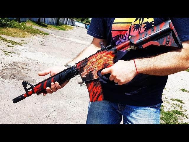 КАК СДЕЛАТЬ M4A4 | HOWL ИЗ CSGO СВОИМИ РУКАМИ DIY