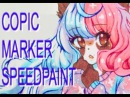 Copic marker speedpaint | galaxy cosette ☆