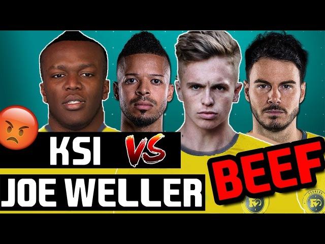 KSI vs JOE WELLER | WEMBLEY CUP BEEF