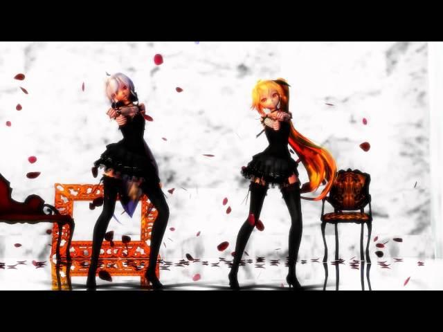 [MMD] Akita Neru and Yowane Haku - Womanizer