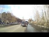 Чудо на дороге: Направо, значит налево! Снежинск 4 апреля 2017