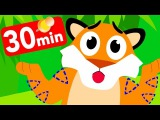 Where Are My Stripes Tiger Boo Boo Lost Them! by Little Angel Nursery Rhymes &amp Kid's Songs
