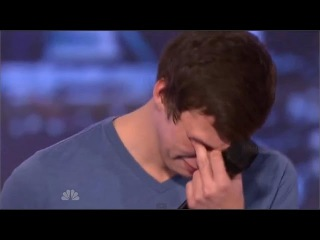 16 years OLD BOY started crying after THE RESPECT HE RECEIVED FROM 'America GOT Talent' jurors.