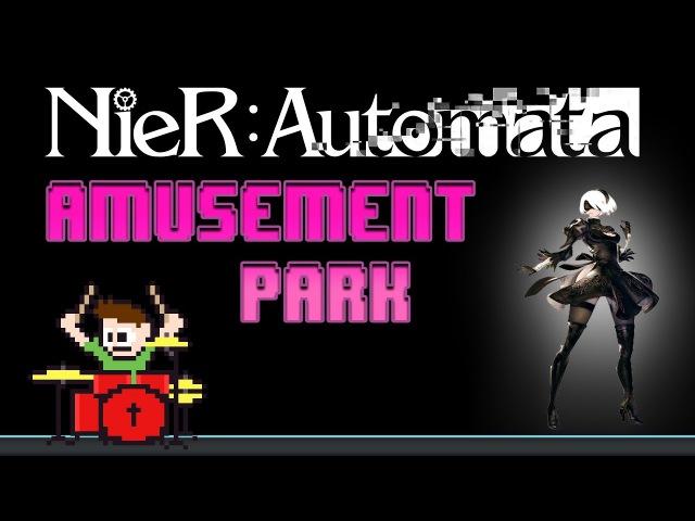 Nier: Automata - Amusement Park (Blind Drum Cover) -- The8BitDrummer