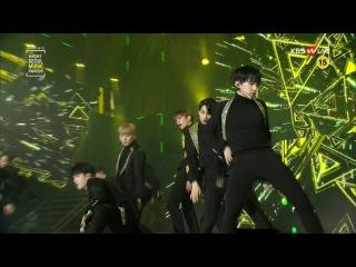 170119 SEVENTEEN (세븐틴) - Chuck (엄지척) BOOMBOOM (붐붐) @ 하이원 서울가요대상 26th Seoul Music Awards [1080p]