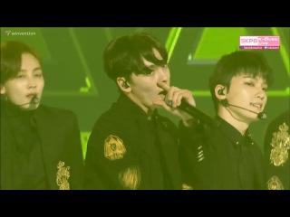 170119 SEVENTEEN (세븐틴) - Chuck (엄지척) BOOMBOOM (붐붐) @ 하이원 서울가요대상 26th Seoul Music Awards