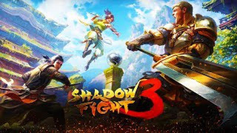 Shadow Fight 3 бой с тенью ДОШЕЛ ДО БОССА видео для детей прохождение игры Shadow Fight 3