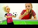 Кукла БАРБИ играет в ФУТБОЛ! ⚽ Мультики для Детей НОВАЯ СЕРИЯ ⛹️ Видео для Дев...