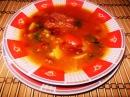Суп с Фасолью и Свиными Ребрышками Острый Супчик из Фасоли