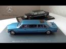 Mercedes-Benz W126 лимузины   NEO Scale Models и GLM   Тюнинг: L'Etoile / Styling Garage