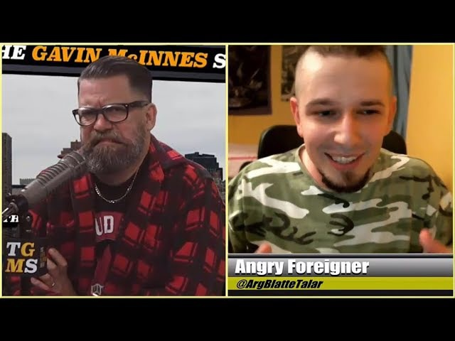 Angry Foreigner Gavin McInnes on Feminist Hatefucking