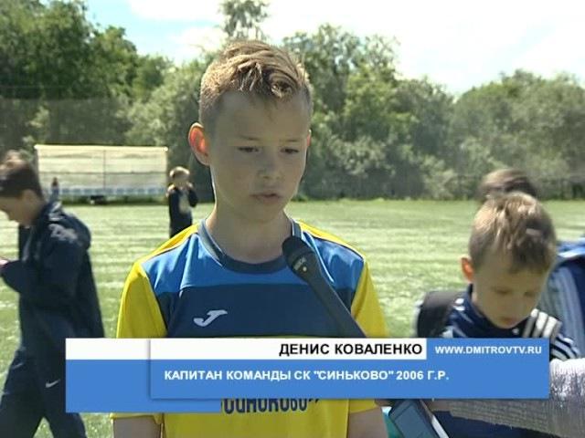 Матчи Первенства МО по футболу среди детских команд