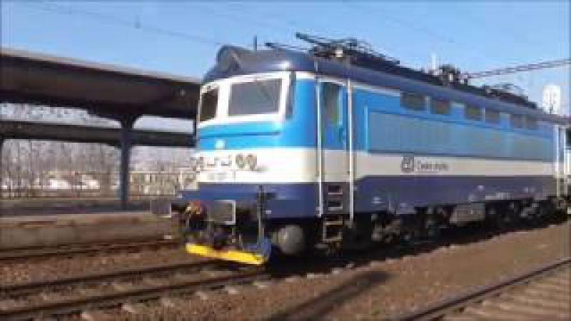 Šocení | Vlaky ve stanici Brno-Židenice 14.2.2017