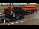 IDIOT Unprofessional Crazy driver truck accident in Wrong way Traffic ets2 MUST SEE
