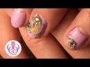 Сложный маникюр♥Проблемные ногти♥Чувствительная кутикула♥Дизайн ногтей ЛУНКИ БАБОЧКИ СТРАЗЫ