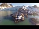 Съемка с квадрокоптера 7 Арктика Шпицберген Самое красивое видео