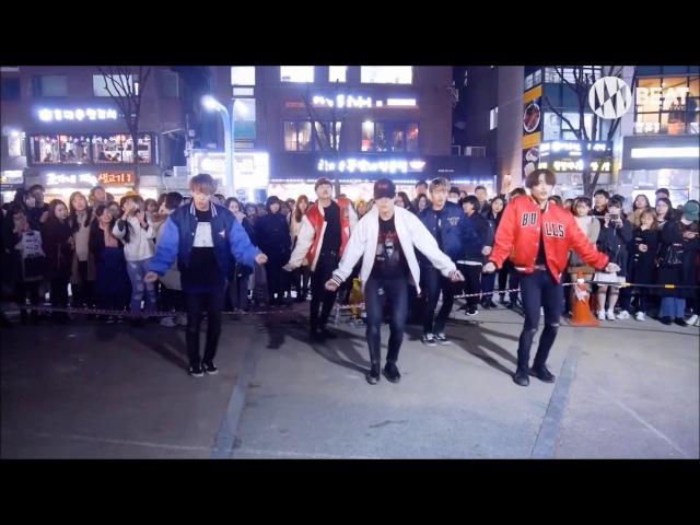 방탄소년단 BTS Not Today Dance cover Busking in Hongdae
