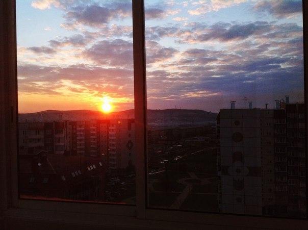 Доброе утро, любимый Красноярск !