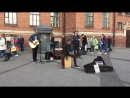 кавер wicked game (The Railroads, уличные музыканты, Питер)