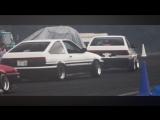 Drift Vine   Toyota AE86 Hachiroku Coupe & Hatchback at Mizuho Highland