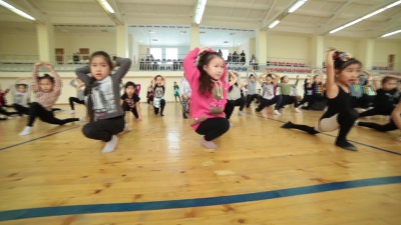 Мастер-класс Баины Басановой в Элисте 05.02.17г. | Академия танцевальных искусств DJOMBA