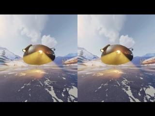 Invasion 3d - fluffy bunny [google cardboard] oculus gear vr box video 3d sbs hd