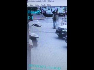 Відео з камери спостереження. Вбивство Дениса Вороненкова