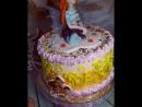 👼Кремовый тортик .Фея Винкс.😘
