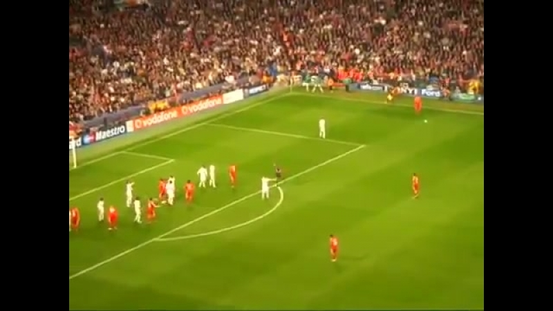 Гол Йосси Бенаюна в ворота «Реала»