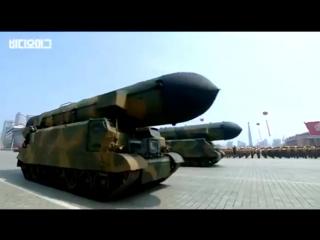 Военный Парад в КНДР, Трепещи, Америка!