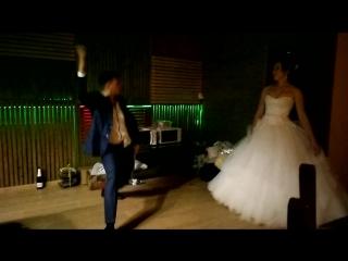 Каминские Александр и Ангелина - первый танец молодых