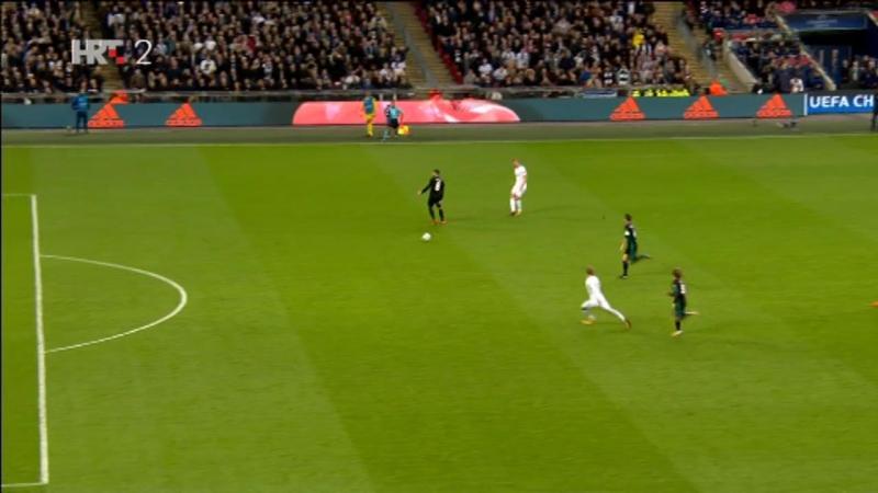 Tottenham - Real Madrid 3-1, C. Eriksen (3-0, 65), 01.11.2017. HD