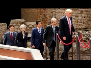 «Кто кого перемашет»: язык жестов участников саммита G7