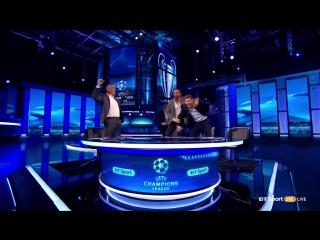 Barcelona v PSG. BT studio reaction