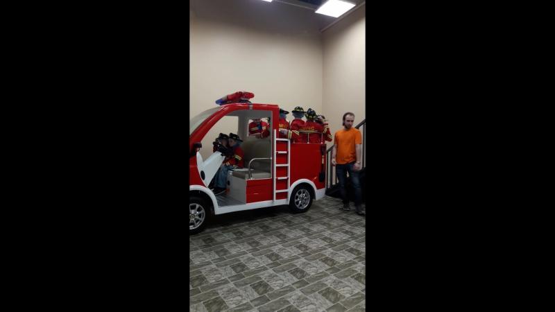 Город профессии ( Саша пожарник 3 часть)