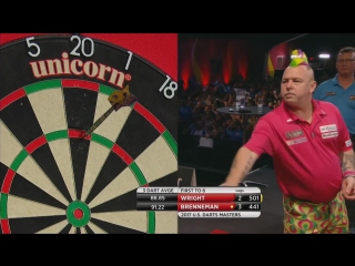 Peter Wright vs Shawn Brenneman (PDC US Darts Masters 2017 / Round 1)