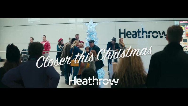 Heathrow Airport just released its tear-jerking Christmas ad (2017) 🎄✈️🐻🐻💞