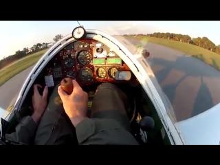 Самый маленький управляемый человеком самолёт
