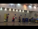 Черлидинг школа танцев Wings на зараде Москвы в кунцево