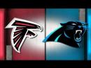 NFL 2017-2018  Week 09  05.11.2017  Atlanta Falcons @ Carolina Panthers