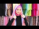 Neng Geulis Hijab Tutorial 14 Ruby Halfmoon Style 2