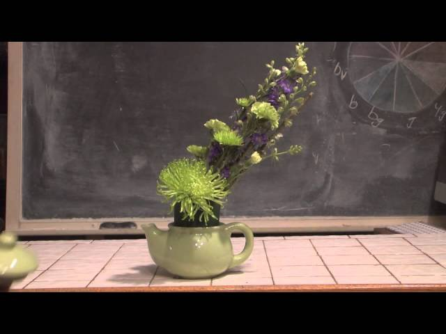 Teapot Florals A Step By Step Video