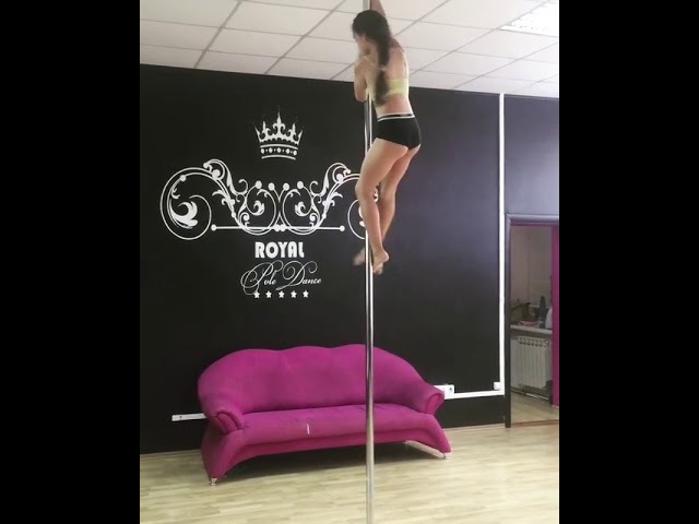 Ключка Ульяна, ученица Royal Pole Dance