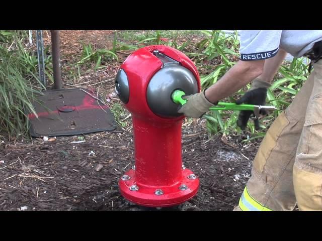 Segilock hydrant and Captivater wrench