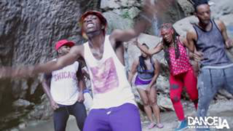 Alkaline- Wait Yuh Turn | DANCEJA TEAM - DANCEHALL STEPS | Cane River Falls