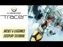 Tracer Cosplay Tutorial Jacket Leggings